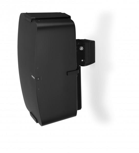 Wandhalter für Sonos PLAY:5 vertikal schwarz