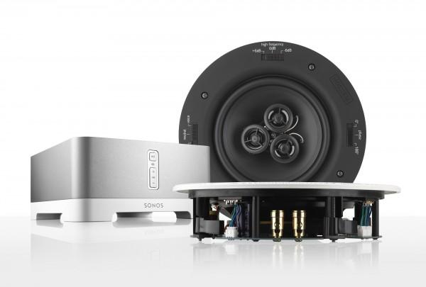 Deckeneinbaulautsprecher für Sonos CONNECT:AMP