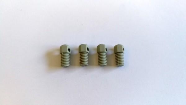 4x Kunststoff-Spikes