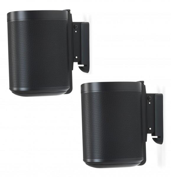 Wandhalter 2x für Sonos ONE schwarz