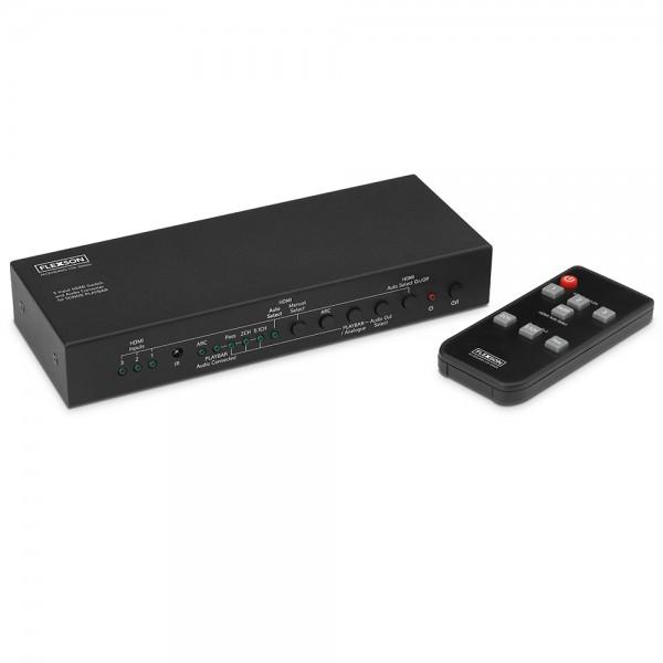 HDMI-Switch mit 3 Eingängen und Audio-Konverter für SONOS PLAYBAR / PLAYBASE