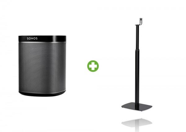 Sonos PLAY:1 höhenverstellbares Standpaket schwarz