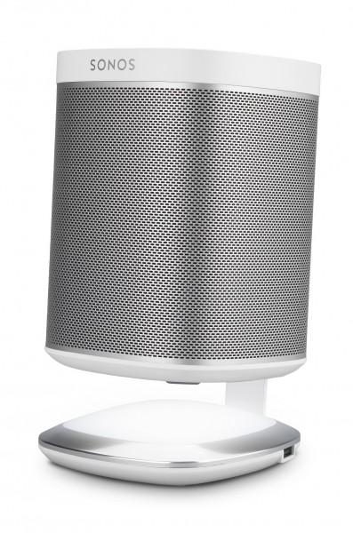 Leuchtender DeskStand für Sonos PLAY:1 weiß