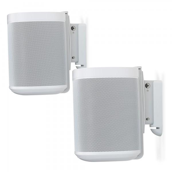 2x Wandhalter für Sonos One, OneSL oder Play:1 Weiß