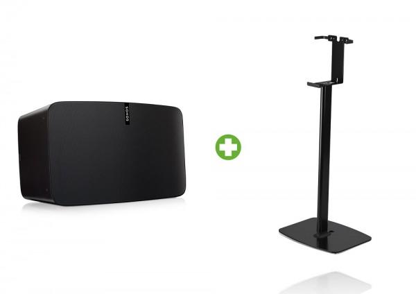 Sonos PLAY:5 vertikales Standpaket schwarz