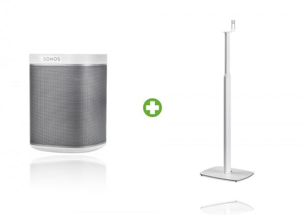 Sonos PLAY:1 höhenverstellbares Standpaket weiß