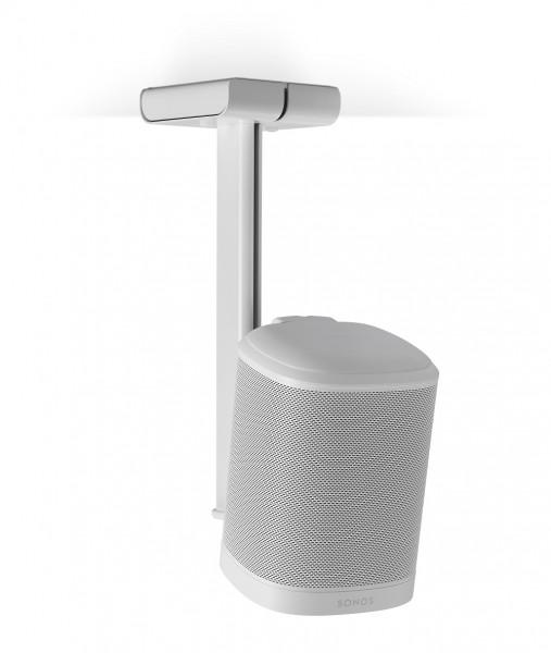 Deckenhalter für 1x Sonos One weiß