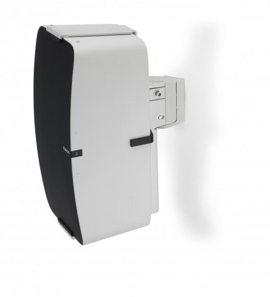 Wandhalter für Sonos PLAY:5 vertikal weiß